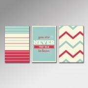 Placa Decorativa - Never Too Old