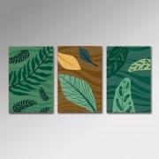 Placa Decorativa - Plantas 2