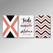 Placa Decorativa - Tudo Posso
