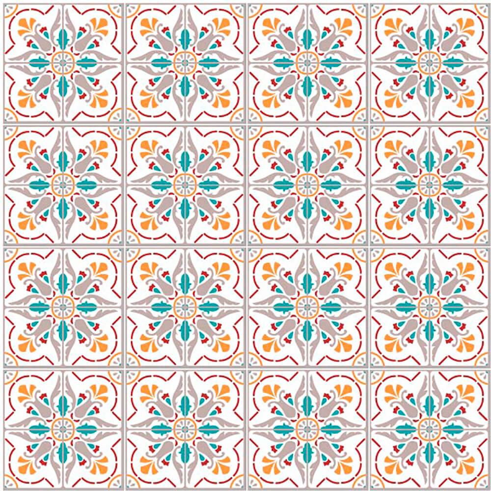 Adesivo de Azulejo Arabesco 1