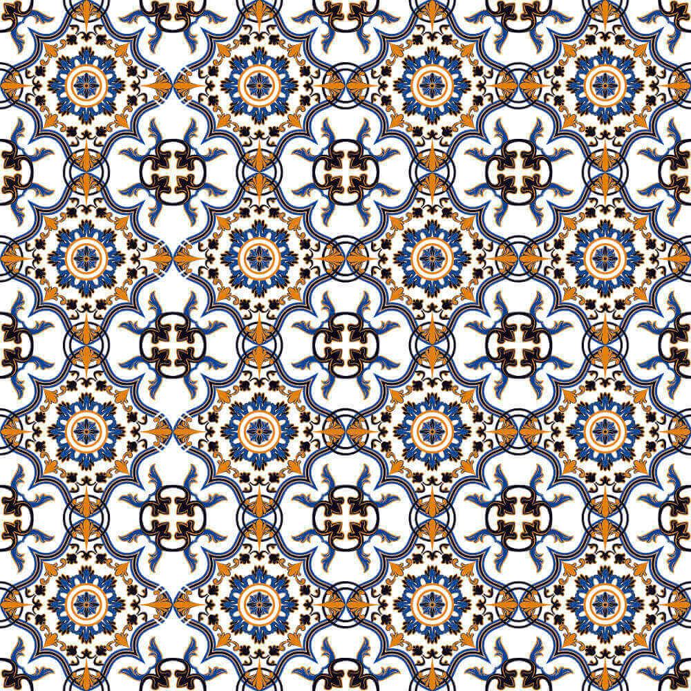 Adesivo de Azulejo Clássico Português