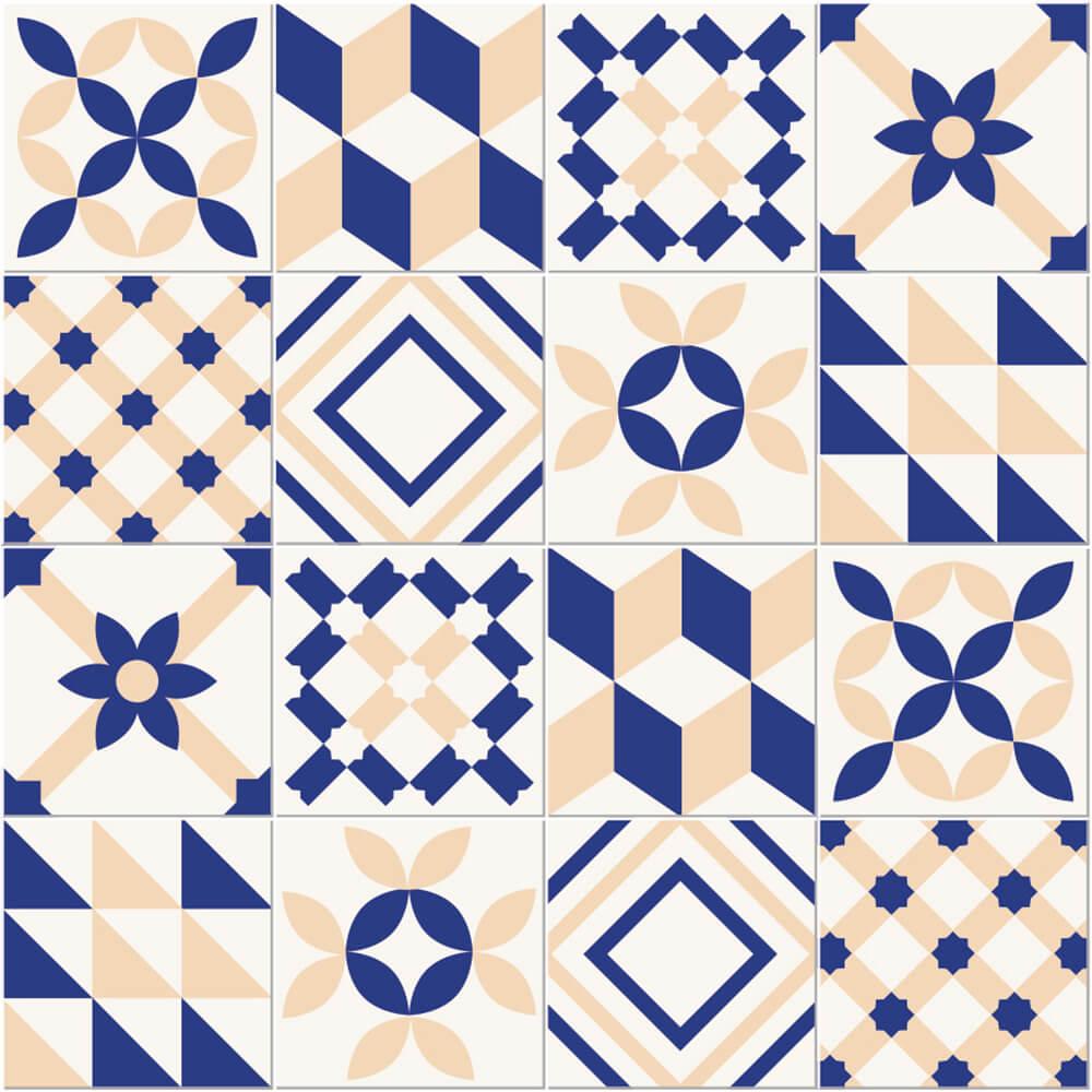 Adesivo de Azulejo Elegante
