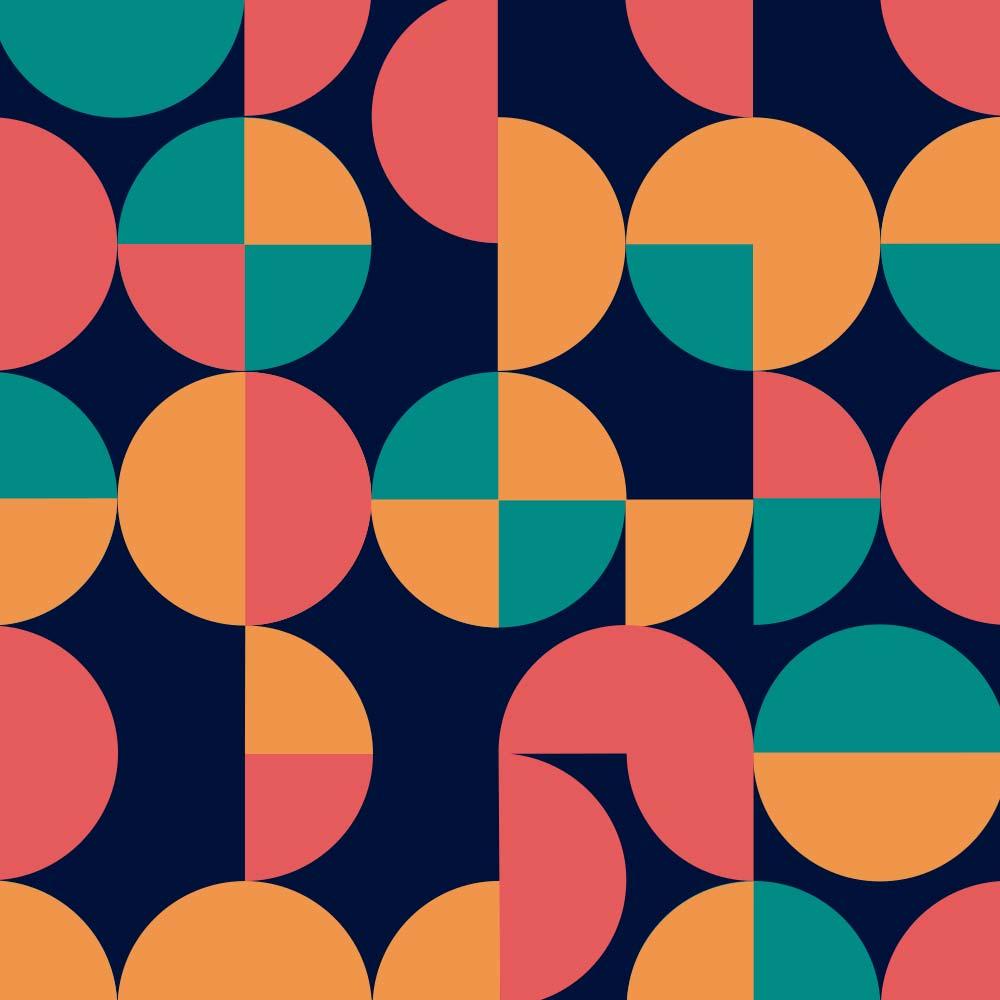 Adesivo de Azulejo Groovy Geométrico 1