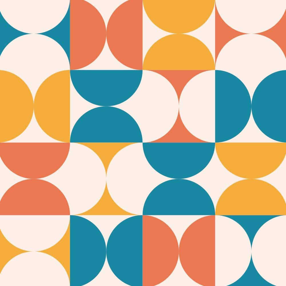 Adesivo de Azulejo Groovy Geométrico 2