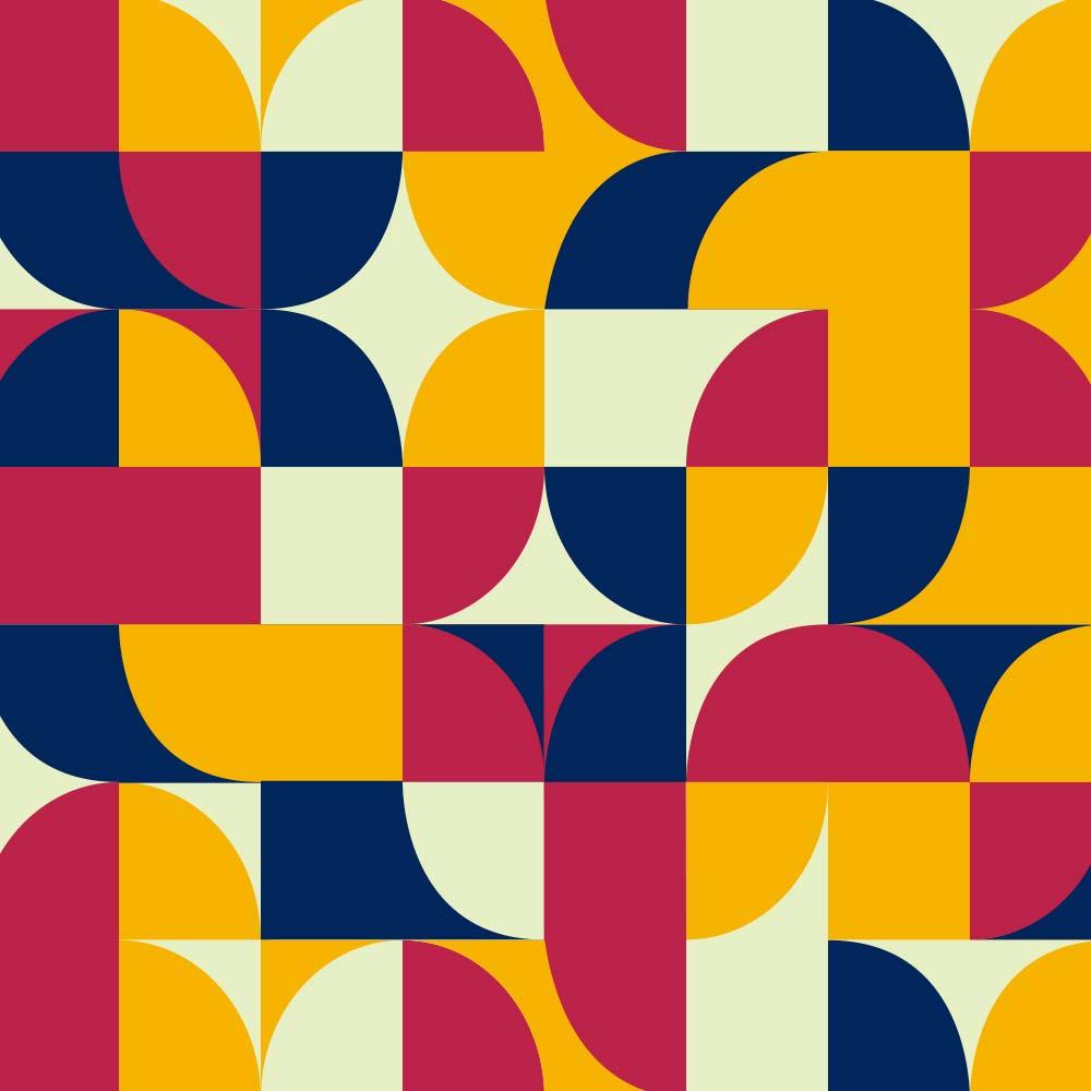 Adesivo de Azulejo Groovy Geométrico 4