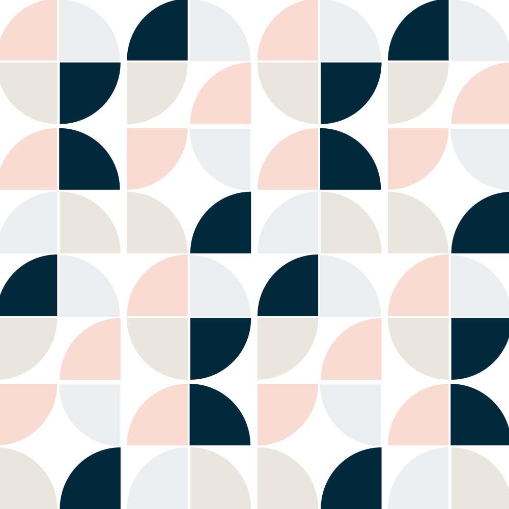 Adesivo de Azulejo Groovy Geométrico 5