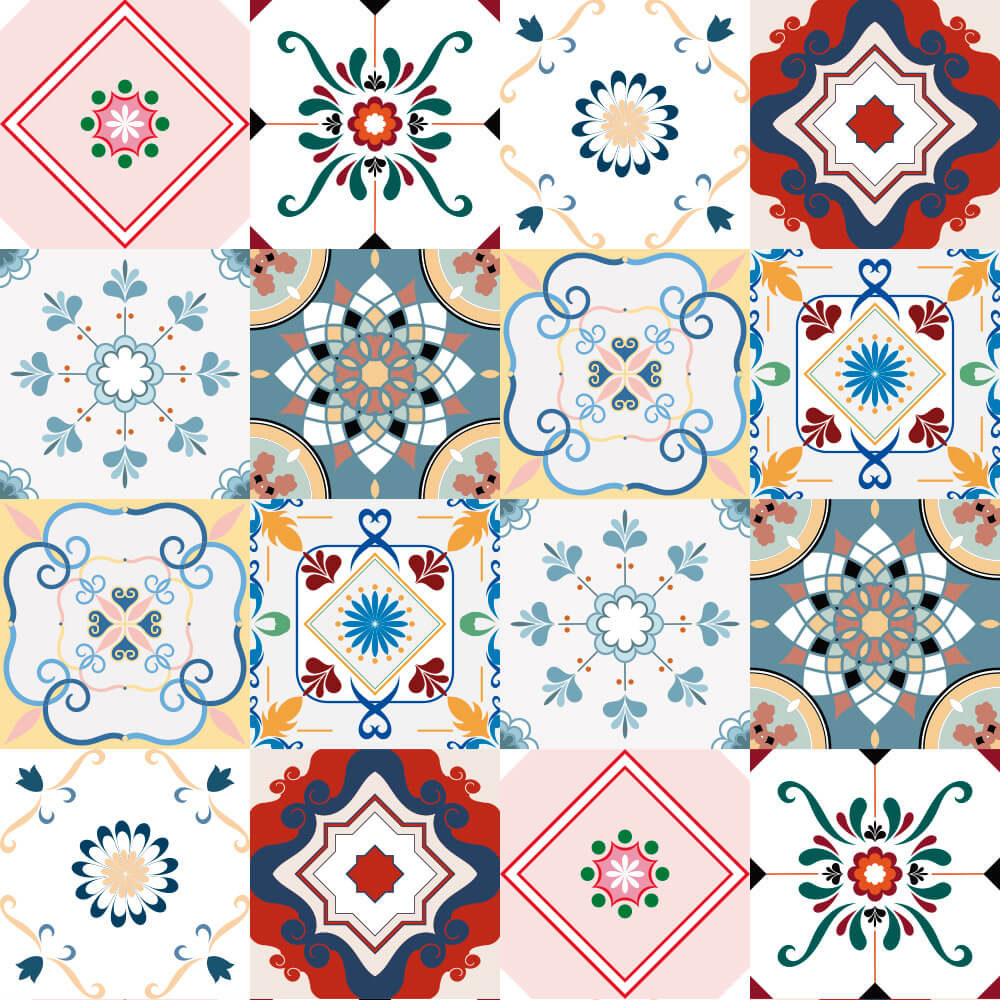 Adesivo de Azulejo Italiano 2