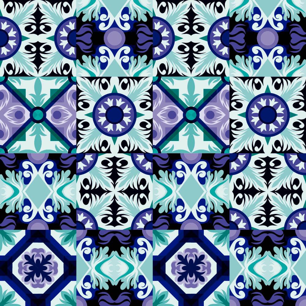 Adesivo de Azulejo Místico 2