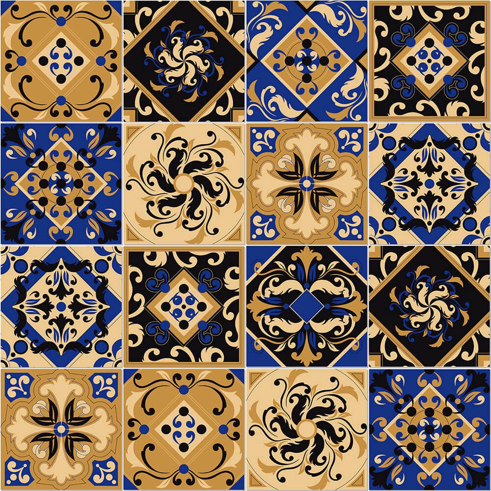 Adesivo de Azulejo Místico