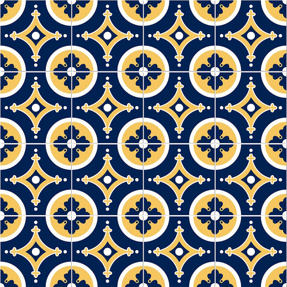 Adesivo de Azulejo Moroccan 11