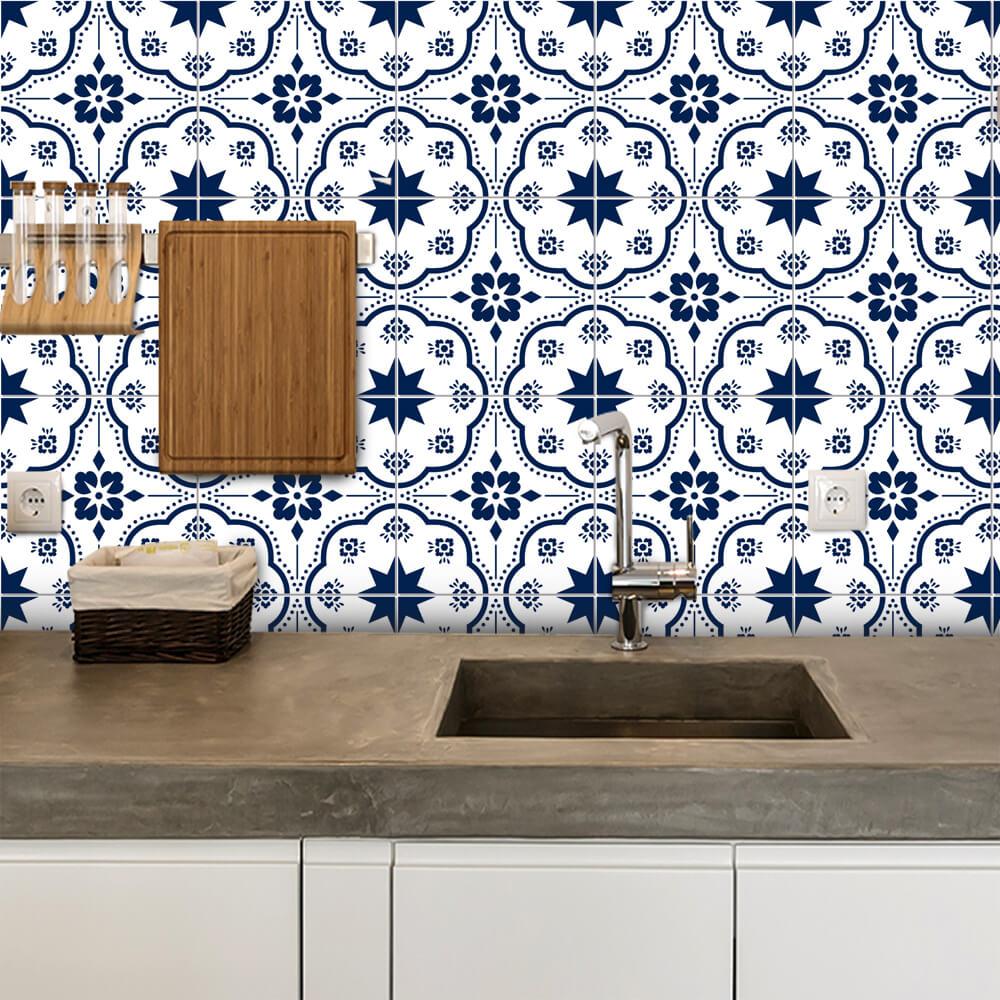 Adesivo de Azulejo Moroccan 14