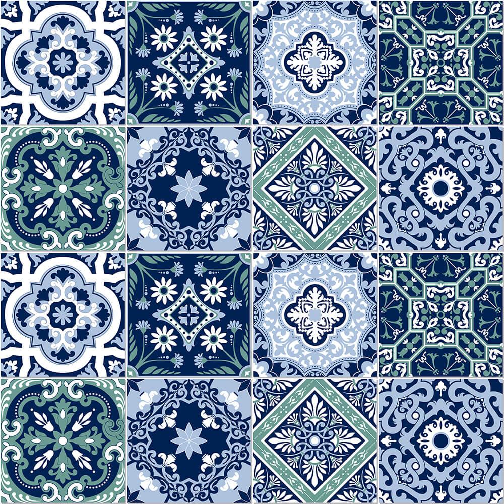 Adesivo de Azulejo Moroccan 16