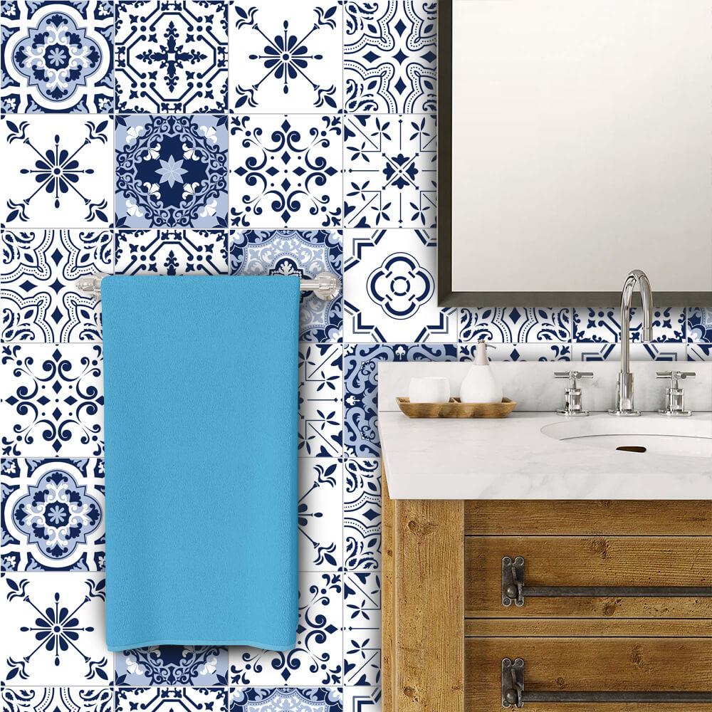 Adesivo de Azulejo Moroccan 17