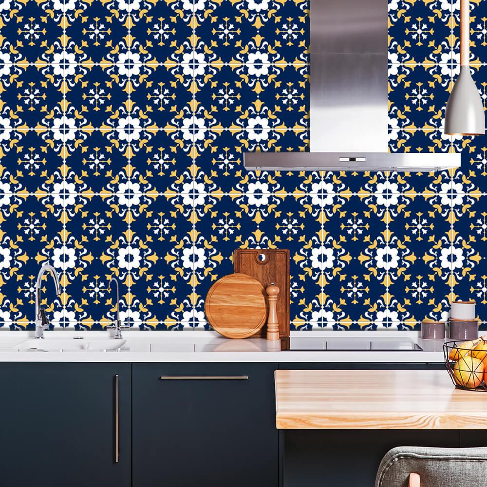 Adesivo de Azulejo Moroccan 1