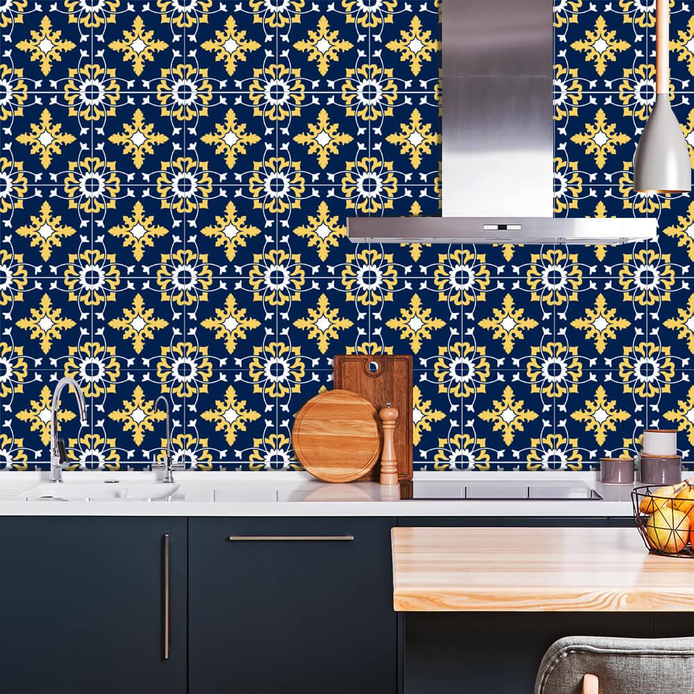 Adesivo de Azulejo Moroccan 3