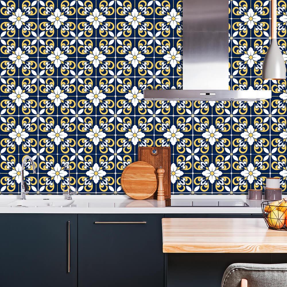 Adesivo de Azulejo Moroccan 4