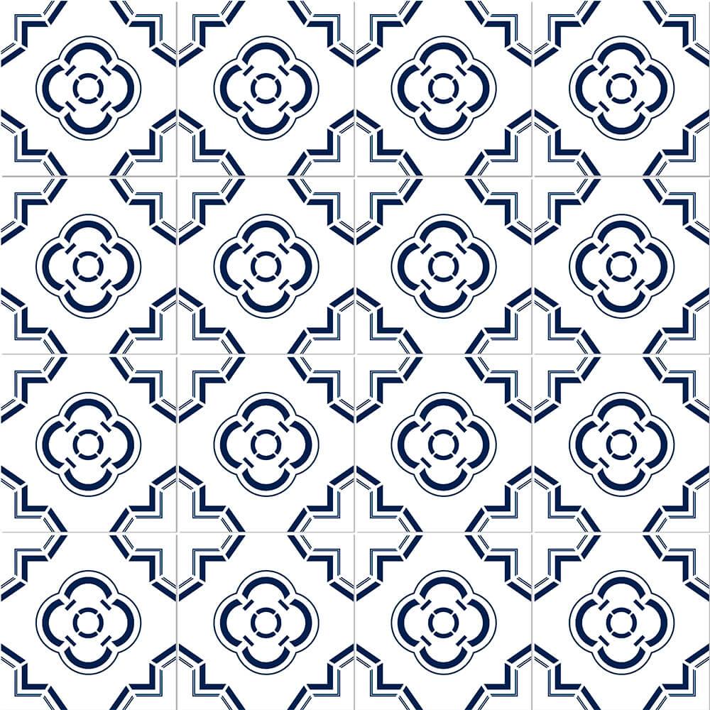 Adesivo de Azulejo Moroccan 5