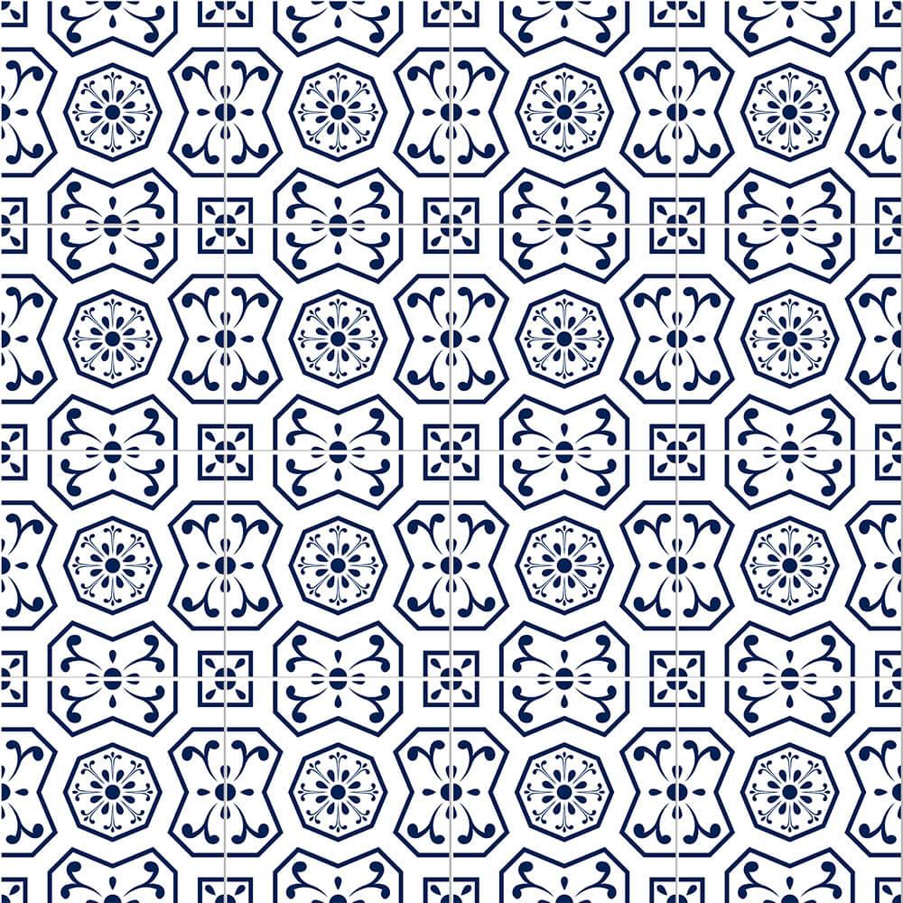 Adesivo de Azulejo Moroccan 8