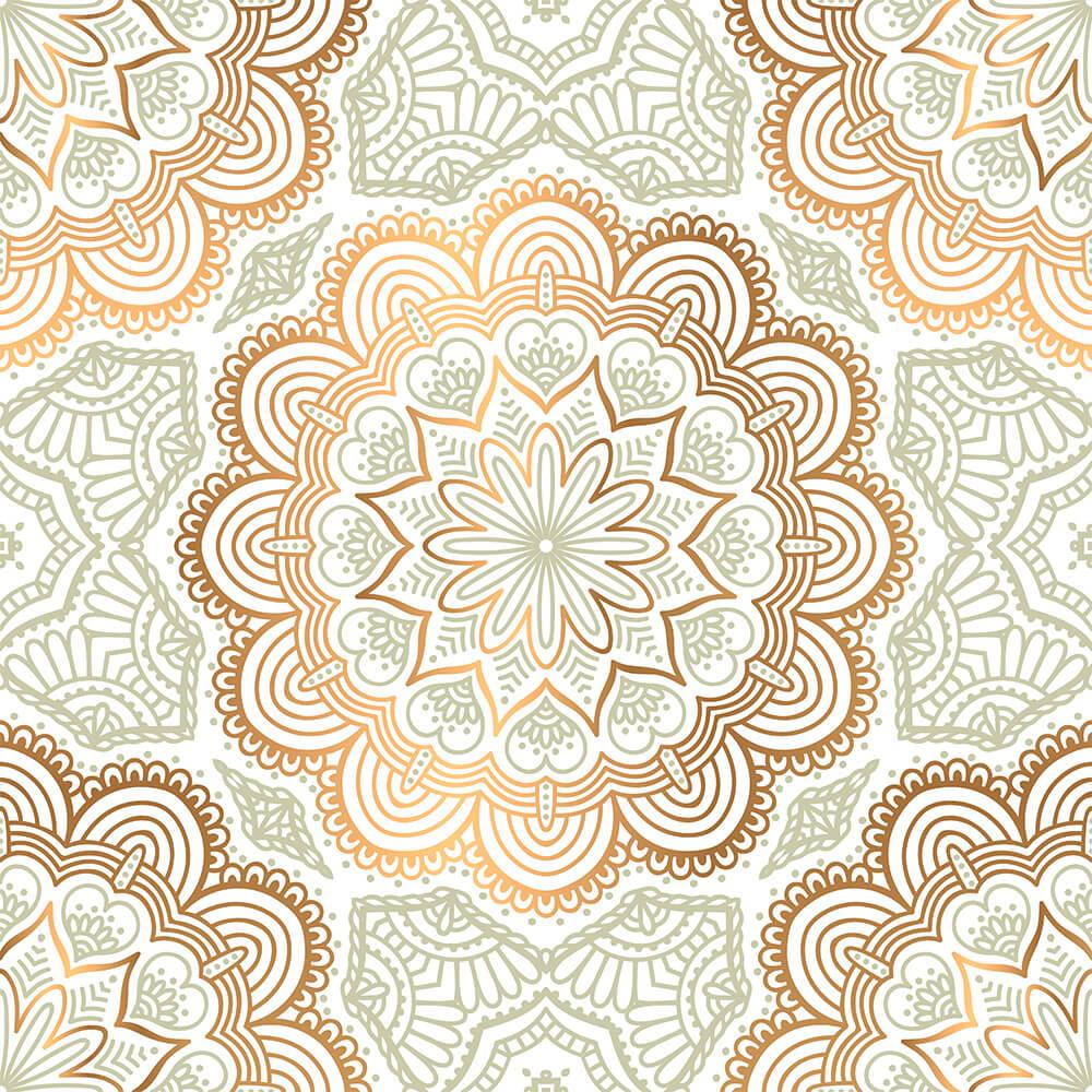 Adesivo de Azulejo New Mandala 3