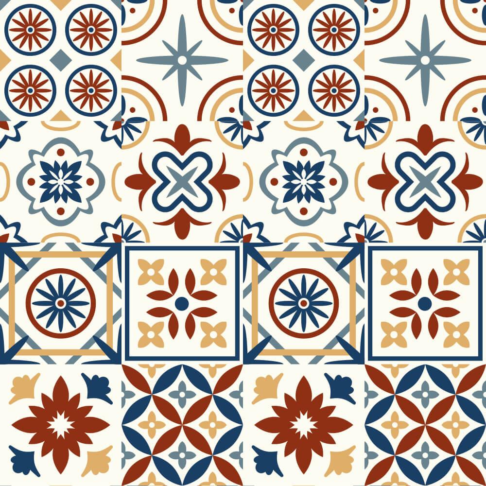 Adesivo de Azulejo Talavera 1