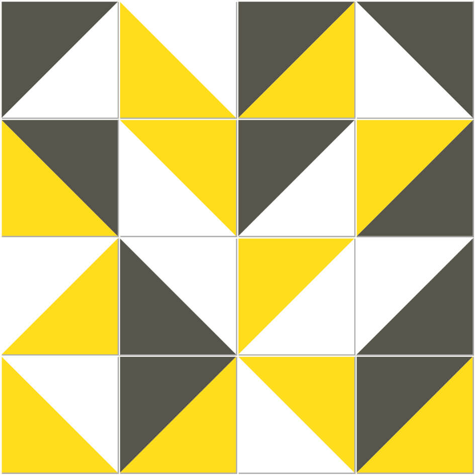 Adesivo de Azulejo Triângulo