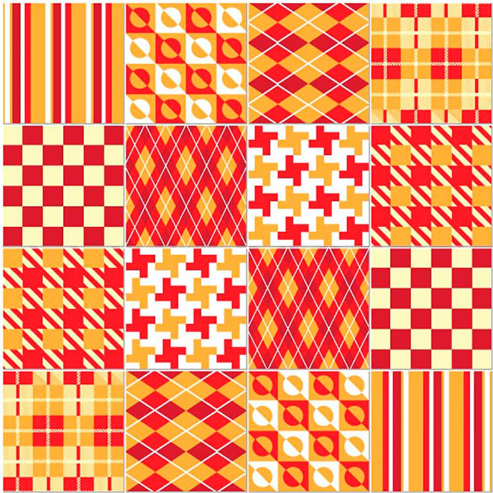 Adesivo de Azulejo Xadrez 2
