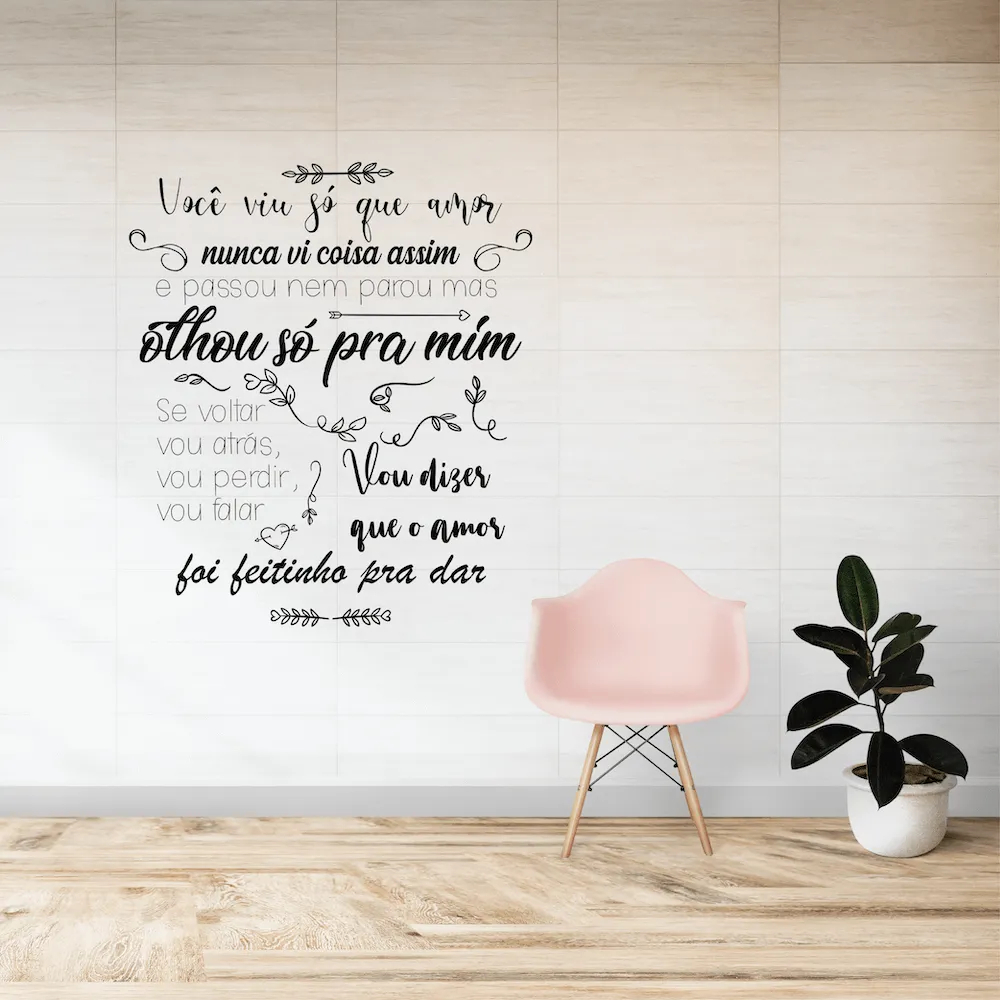 Adesivo de Parede Caetano Veloso