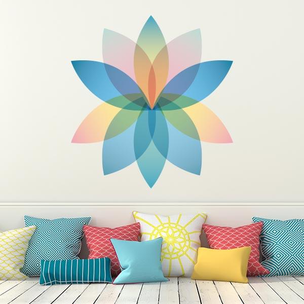 Adesivo de Parede Mandala Lotus