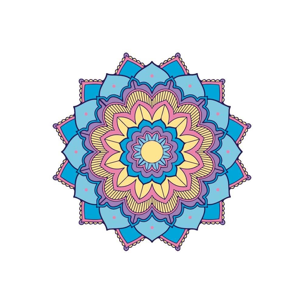 Adesivo de Parede New Mandala 10