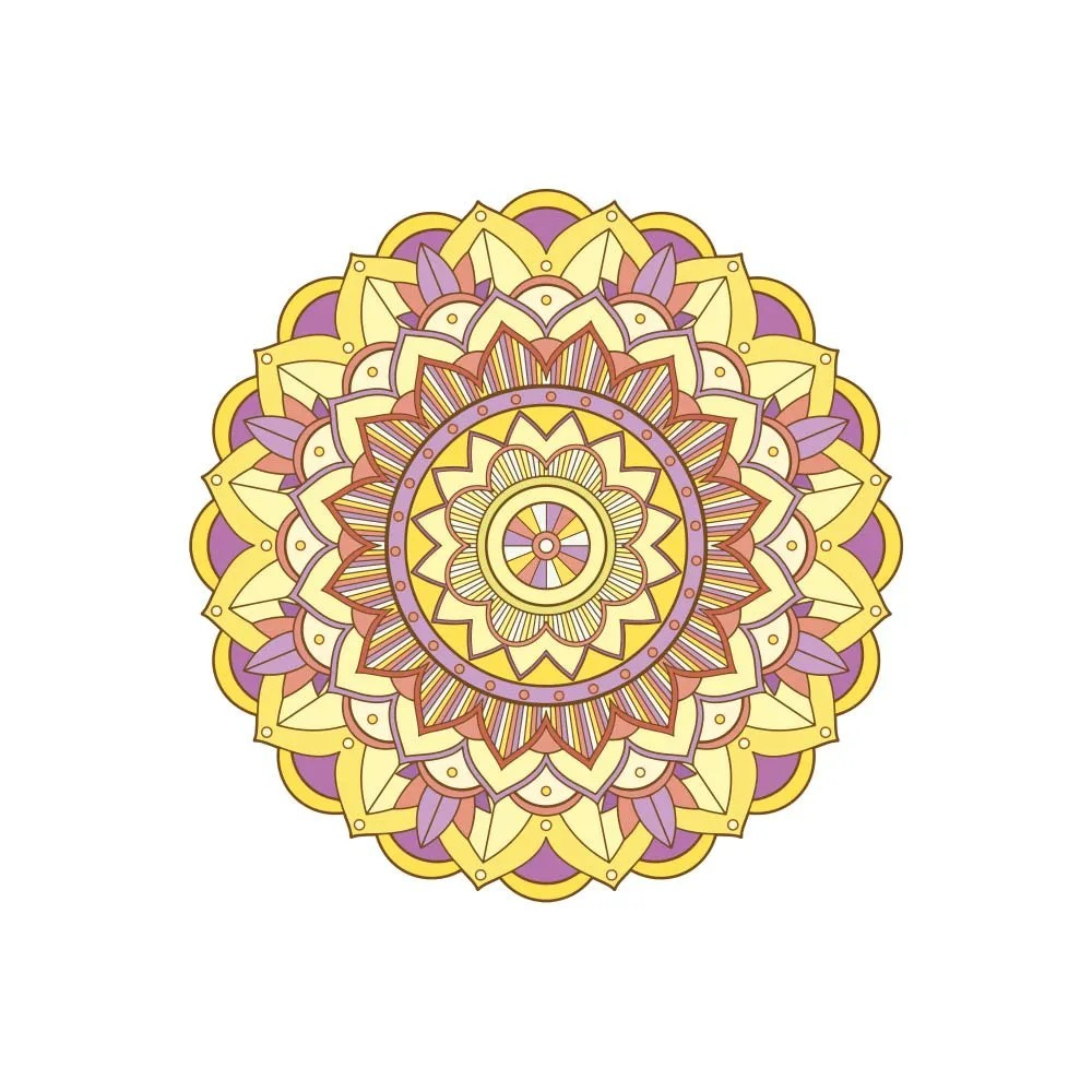 Adesivo de Parede New Mandala 16