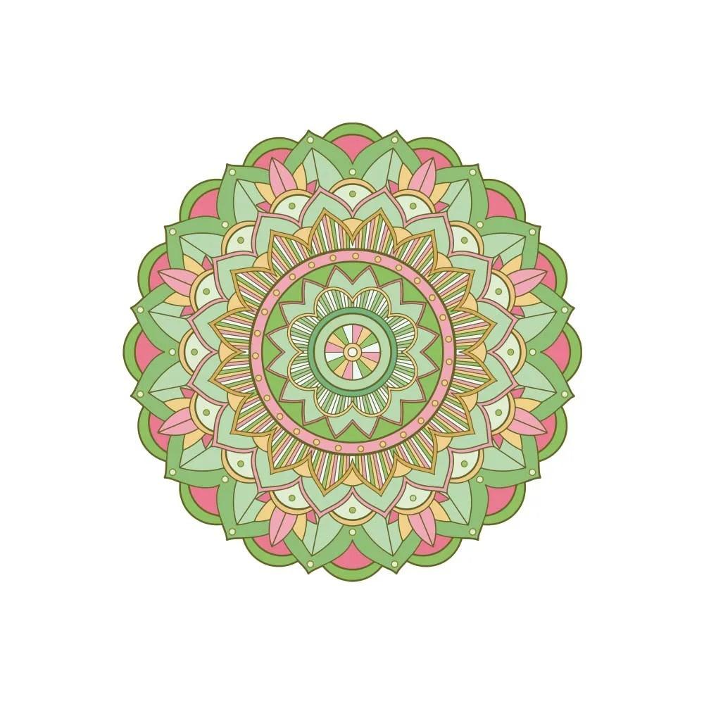 Adesivo de Parede New Mandala 17