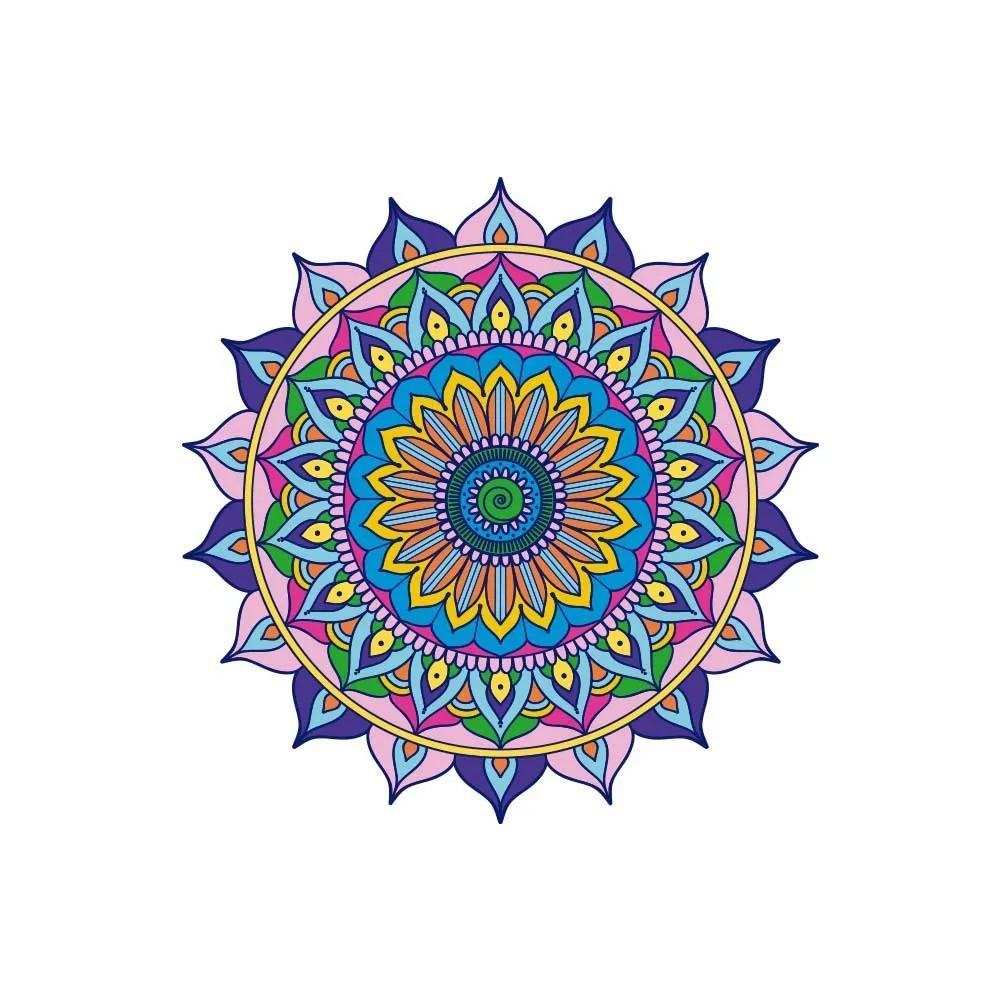 Adesivo de Parede New Mandala 19