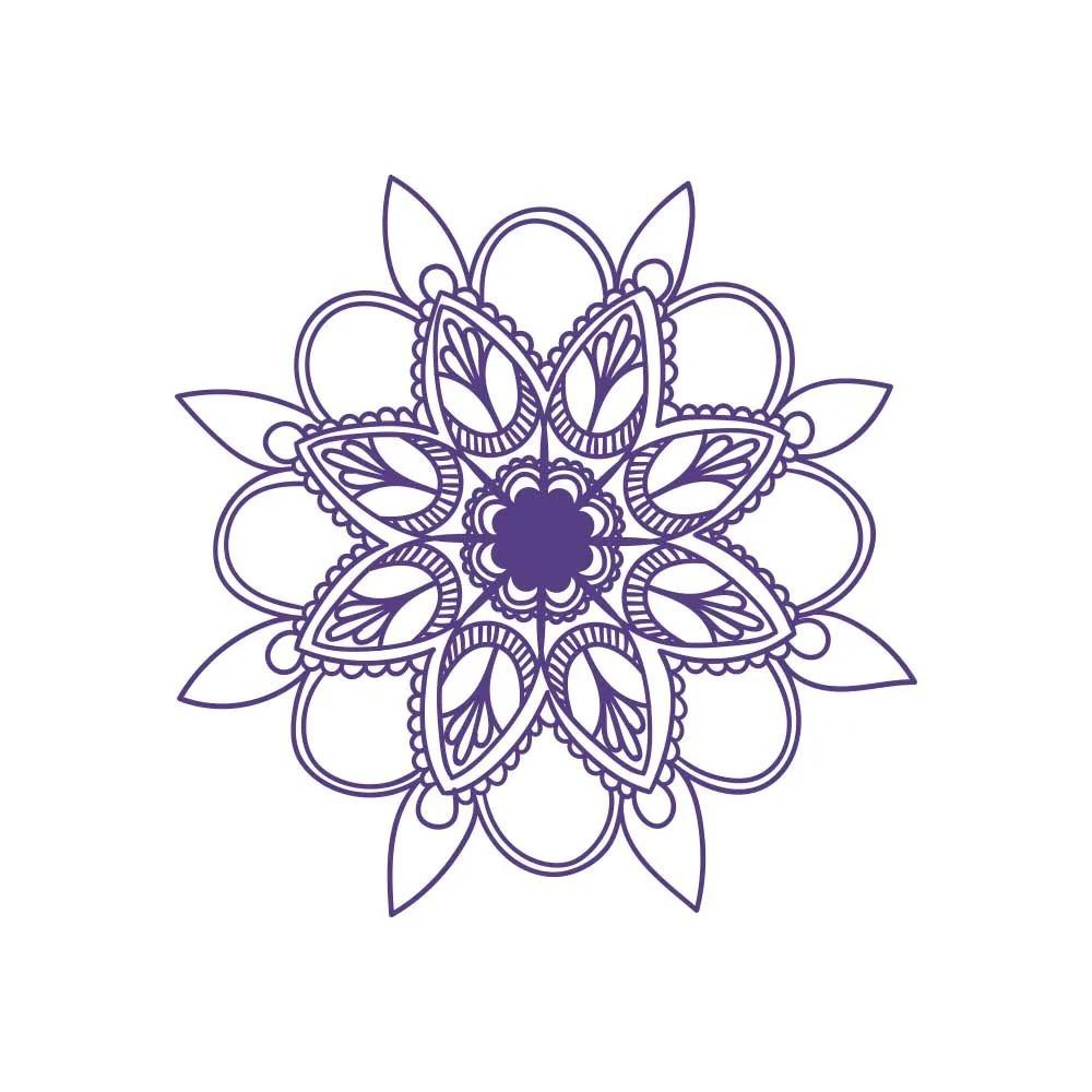 Adesivo de Parede New Mandala 9
