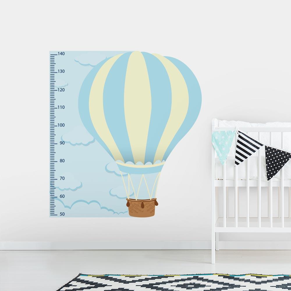Adesivo de Parede Regua Infantil Balão