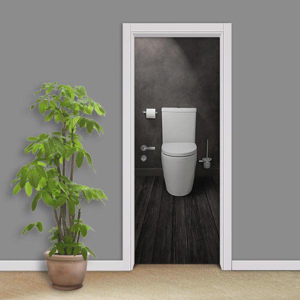 Adesivo de porta Banheiro