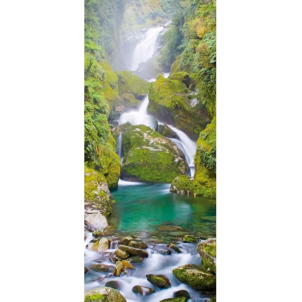 Adesivo de Porta Cachoeira