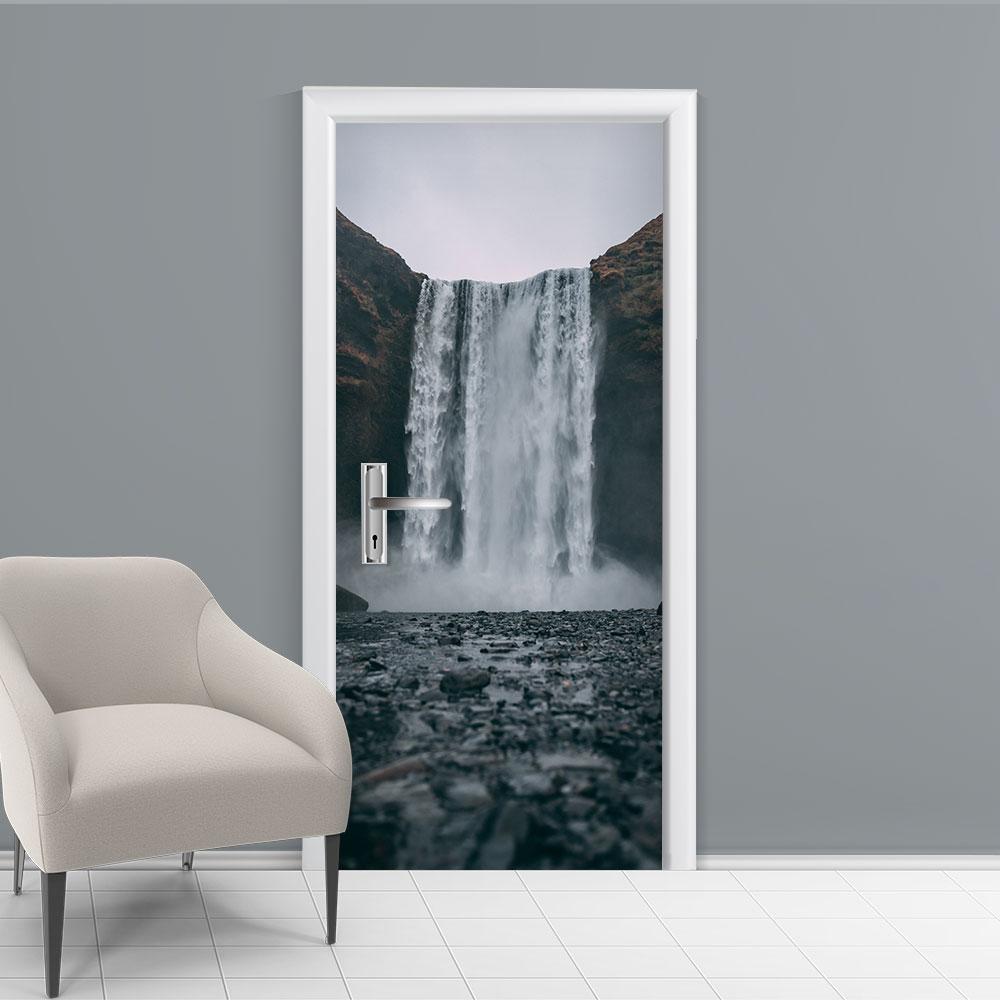 Adesivo de Porta Cachoeira 5