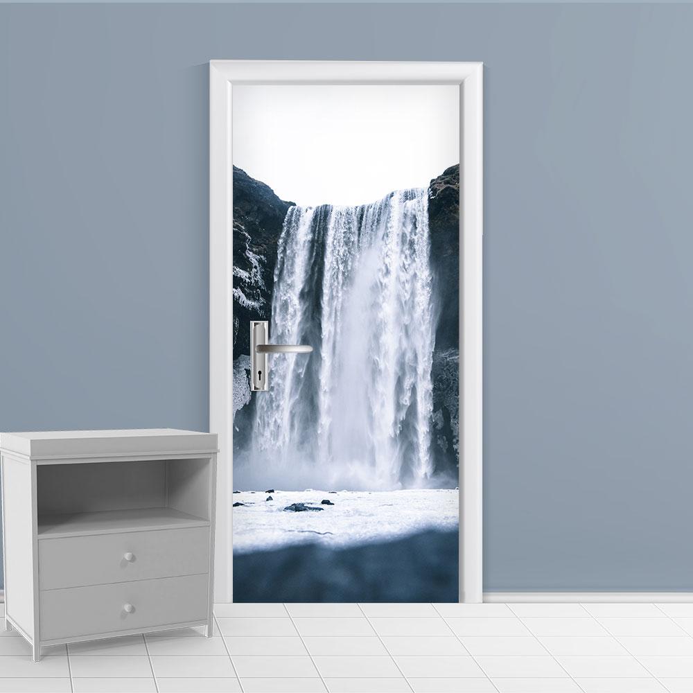 Adesivo de Porta Cachoeira 6