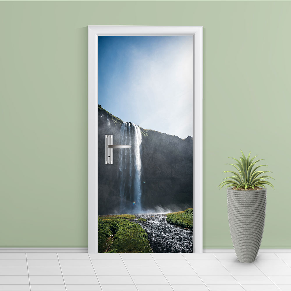 Adesivo de Porta Cachoeira 9