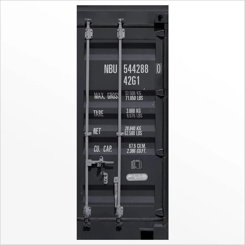 Adesivo de Porta Container