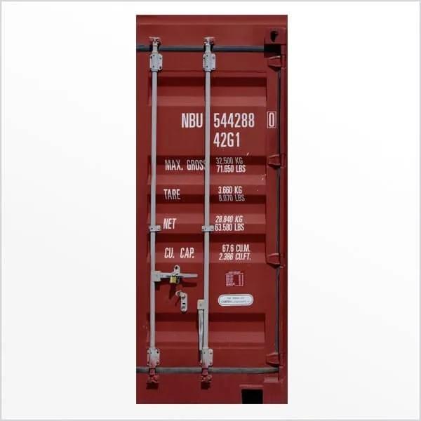 Adesivo de Porta Container 2