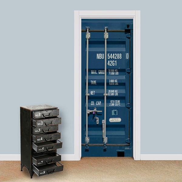 Adesivo de Porta Container 3