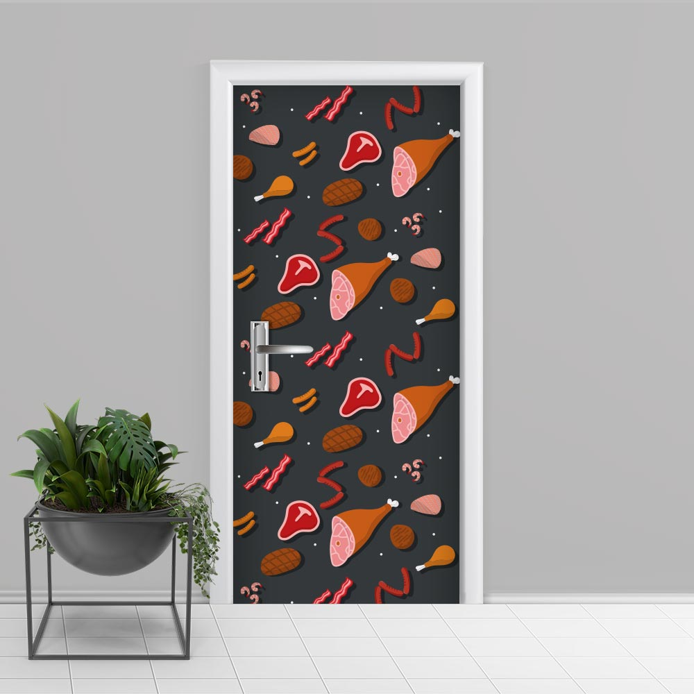 Adesivo de Porta Cozinha 4