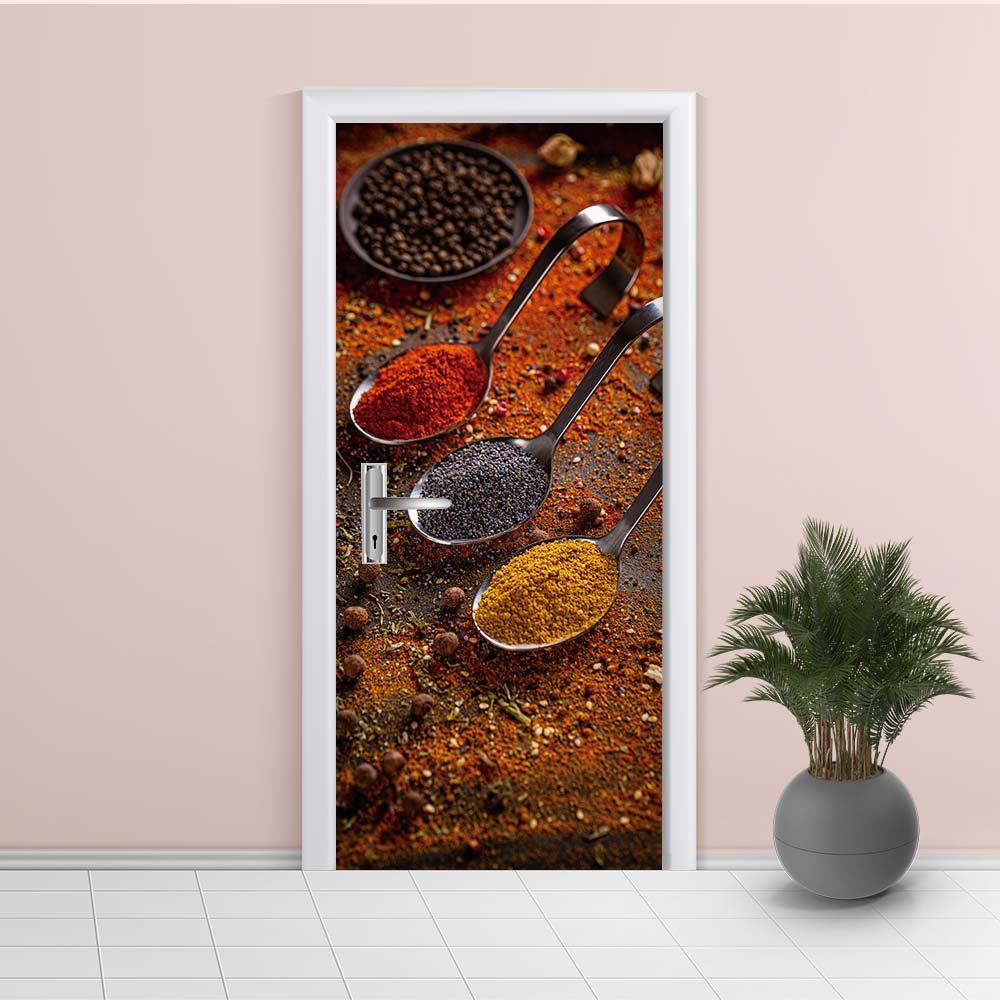 Adesivo de Porta Cozinha 7