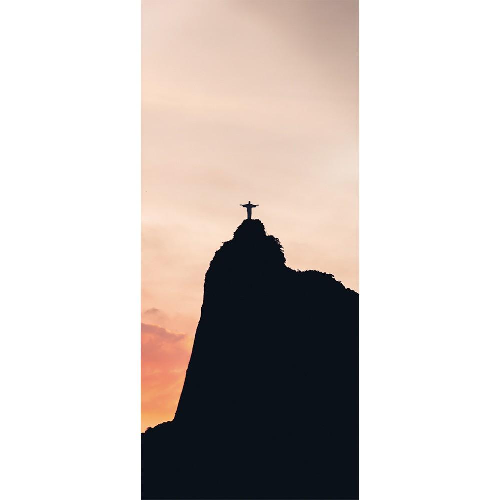 Adesivo de Porta Cristo Redentor