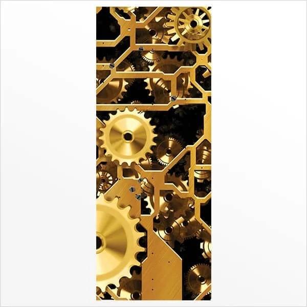 Adesivo de Porta Engrenagem 2