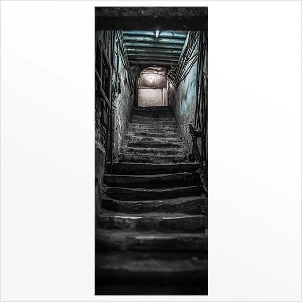 Adesivo de Porta Escada 2