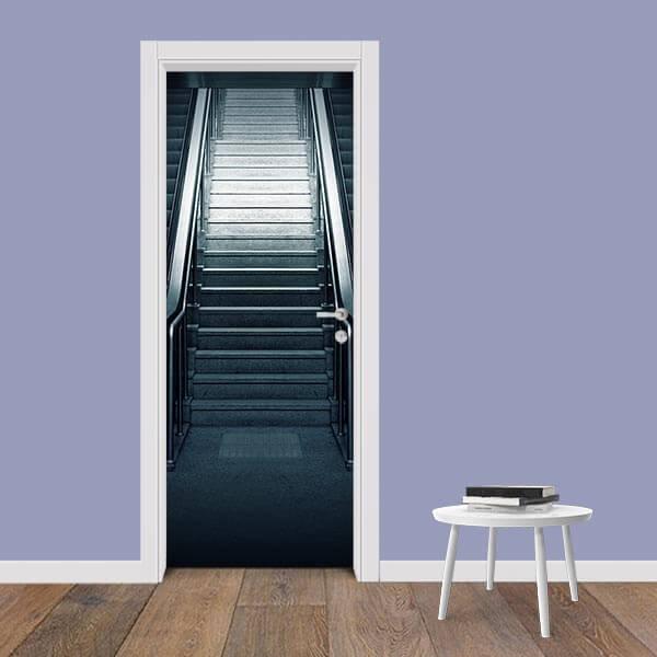 Adesivo de Porta Escada 3