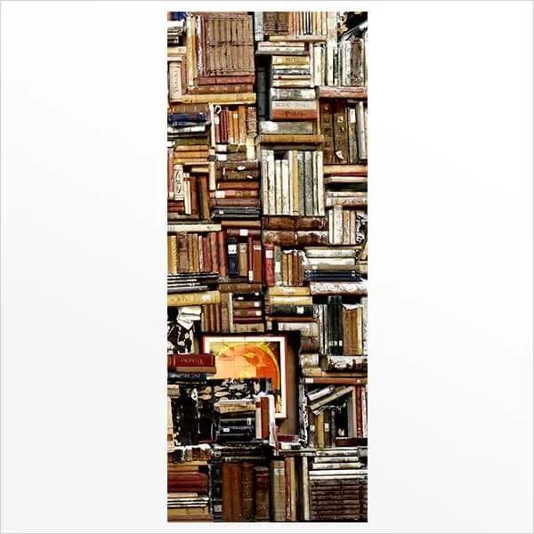 Adesivo de Porta Estante de Livros 2