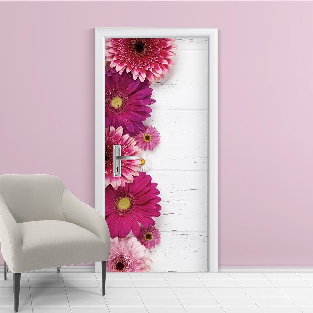 Adesivo de Porta Floral 10